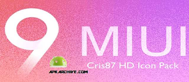 MIUI 9 HD - ICON PACK Apk