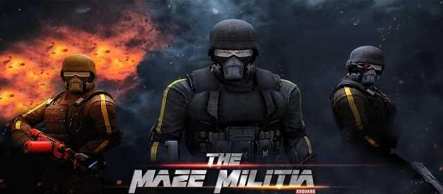 MazeMilitia: LAN Online Multiplayer v2.2 [Mod] APK