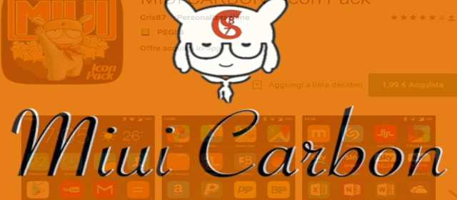 MIUI CARBON - Icon Pack Apk