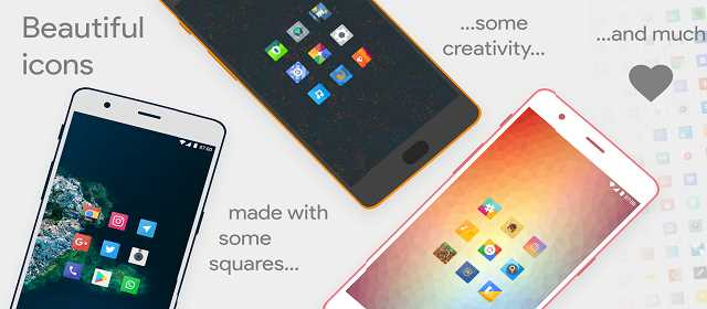 Talitha Square – Oreo Adaptive Icon Pack v12 APK