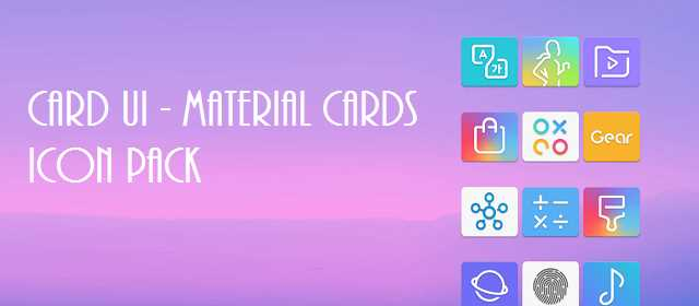 Card UI – Material Cards Icon Pack v1.1.5 APK
