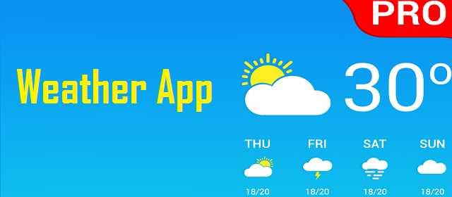 Weather App Pro v2.2 APK