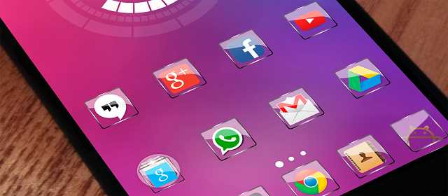Glass Icon Pack Nova Theme v1.2.8 APK