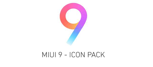 MIUI 9 - Icon Pack v1.0.1 APK