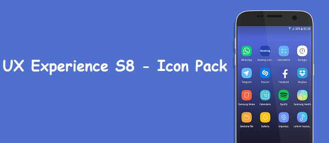 UX Experience S8 - Icon Pack Apk