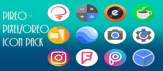 Pireo - Pixel Pie Icon Pack v2.4.0 APK