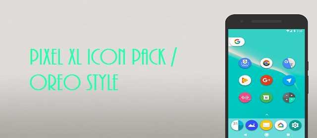 Pixel XL Icon Pack / Oreo Style Apk