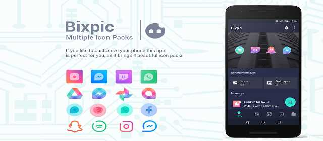 Bixpic – Icon Packs v1.1.0 APK