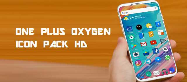 ONE PLUS OXYGEN ICON PACK HD v2.3 APK