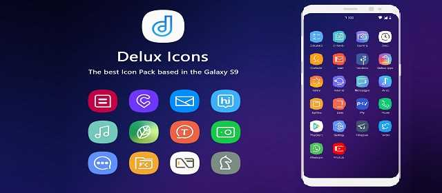 Delux – S9 Icon Pack v2.0.7 APK