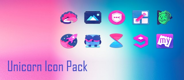 Unicorn Icon Pack v5.3 APK