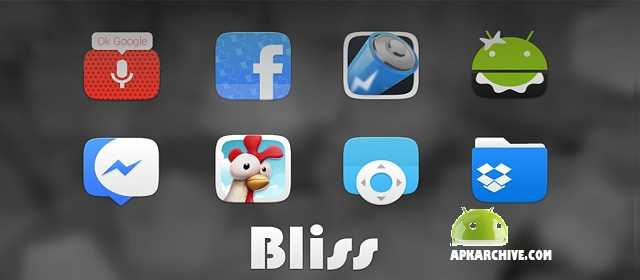 Bliss - Icon Pack Apk