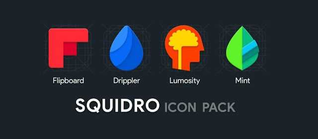 Squidro - Material Icon Pack v5.4.0 APK