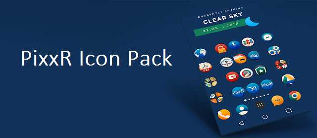 PixxR Icon Pack v1.6 APK