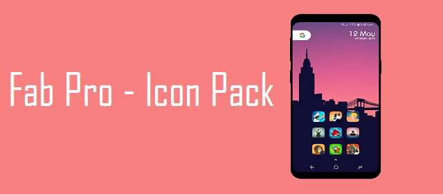 Fab Pro – Icon Pack v1.1.0 APK