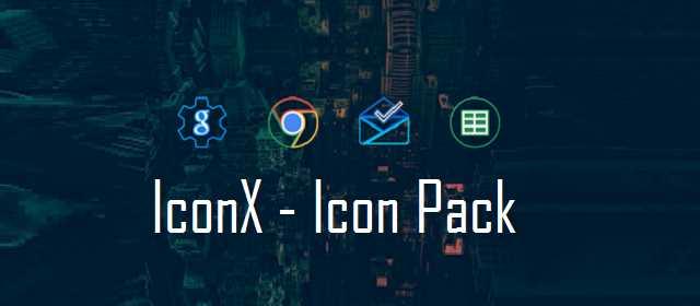 IconX - Icon Pack Apk