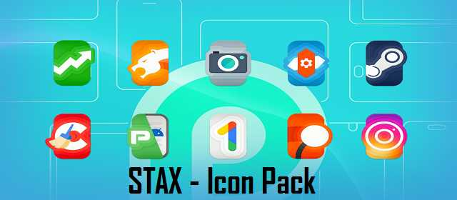 STAX - Icon Pack v3.5 APK