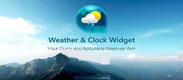 Weather & Clock Widget Ad free v4.1.0.1 APK