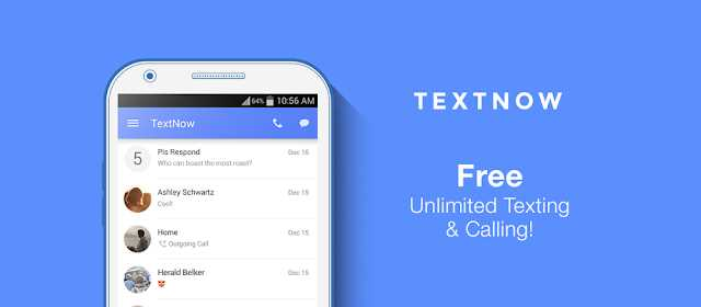 TextNow Premium - free text + calls v6.51.0.2 APK