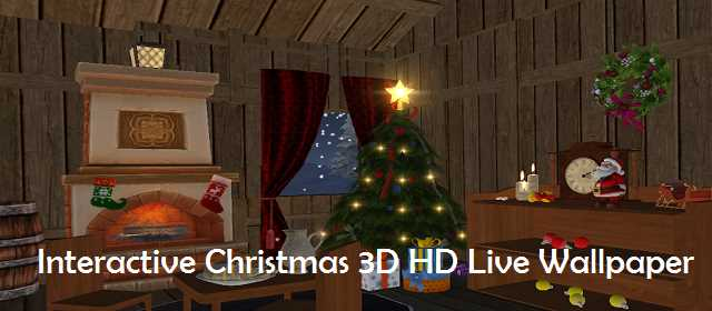 Interactive Christmas 3D HD Live Wallpaper v1.3 APK