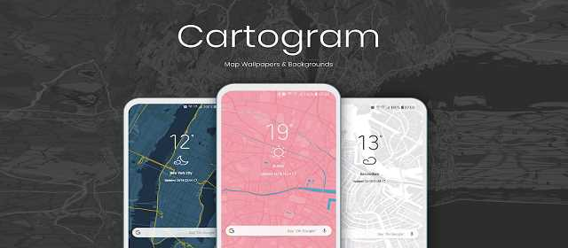 Cartogram - Map Wallpapers & Backgrounds Apk