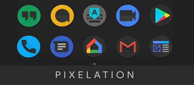 PIXELATION – Dark Pixel-inspired icons v6.8 APK