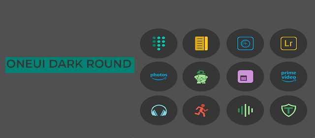 OneUIDark Round - Icon Pack Apk