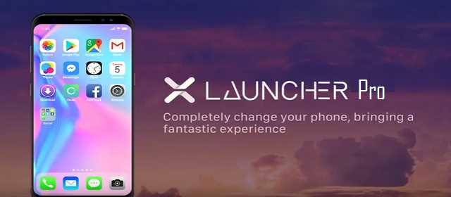 X Launcher Pro :Phone X Theme, IOS Control Center Apk