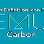EMUI CARBON - ICON PACK v3.2 APK