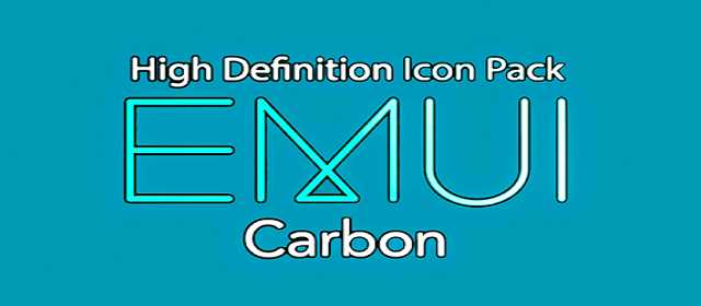 EMUI CARBON - ICON PACK Apk