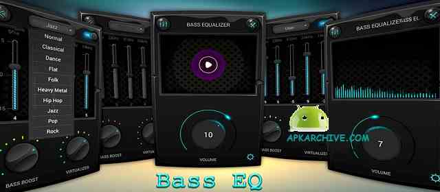 Equalizer & Bass Booster Pro Apk