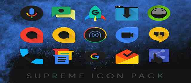 Supreme Icon Pack Apk