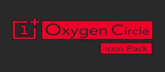 OXYGEN CIRCLE - ICON PACK Apk