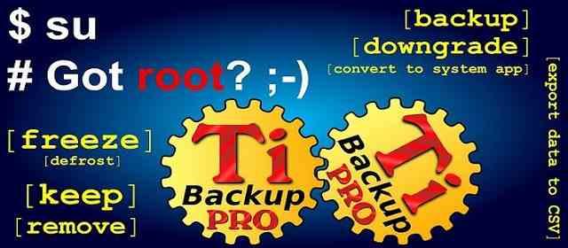 Titanium Backup root apk