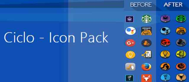 Ciclo - Icon Pack Apk