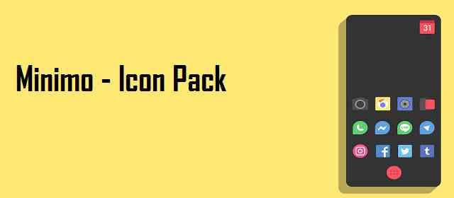 Minimo - Icon Pack Apk