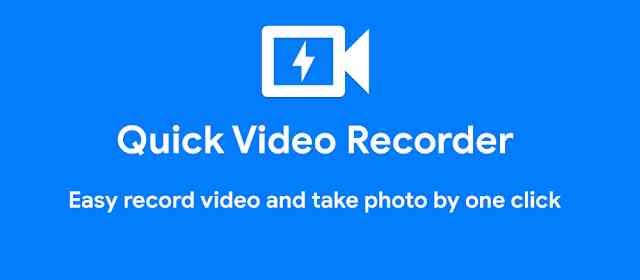 Quick Video Recorder Pro Apk