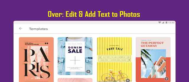 Over Pro: Edit & Add Text to Photos Apk