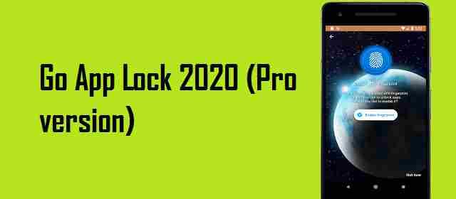 Go App Lock 2020 (Pro version) Apk