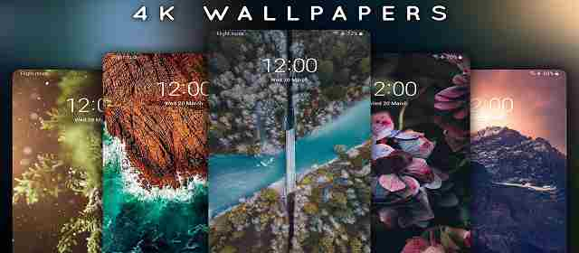 4K Wallpapers - Auto Wallpaper Changer Pro Apk