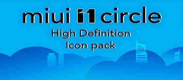 Miui 11 Circle Fluo - Icon Pack Apk