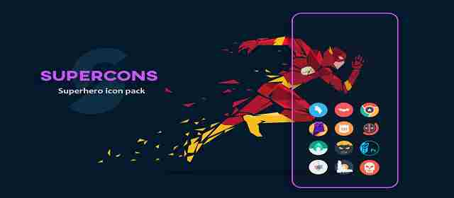 Supercons - The Superhero Icon Pack Apk